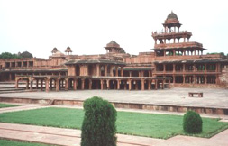 The Panch Mahal in Fatepur Sikri